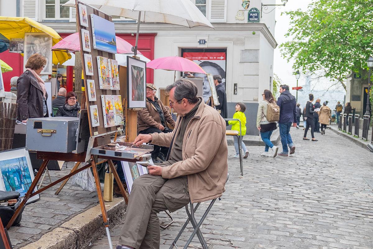 12.-Montmarte-Place-du-Tertre